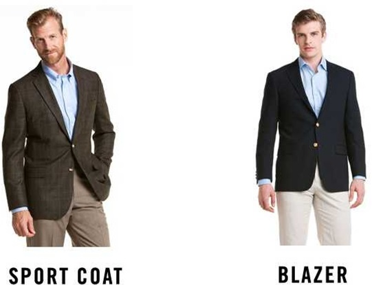 difference between blazer and sports coat