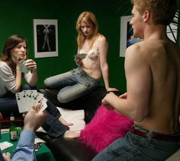 strip poker sex story